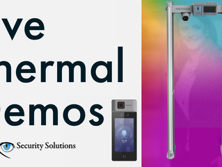 Live Thermal Scanning Demos Now Available with GenX Security