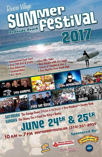 Redondo Beach Riviera Village Summer Festival