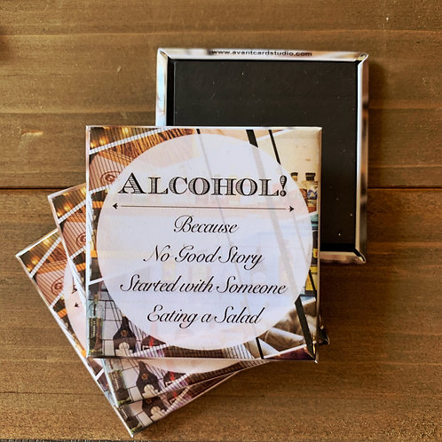 Alcohol Story Magnet
