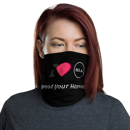 """I Heart HEA"" Neck Gaiter/Face Mask"