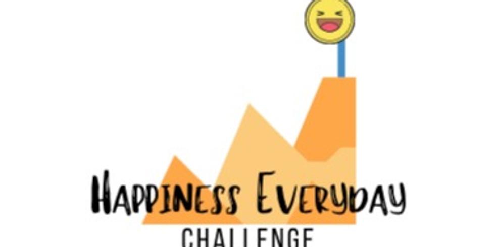 Happiness Everyday Challenge Kickoff Conversation