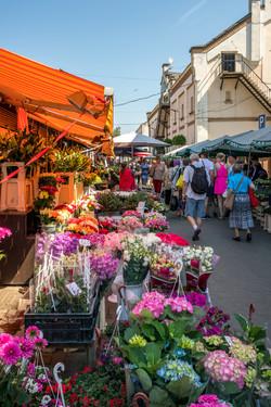 Wochenmarkt Riga