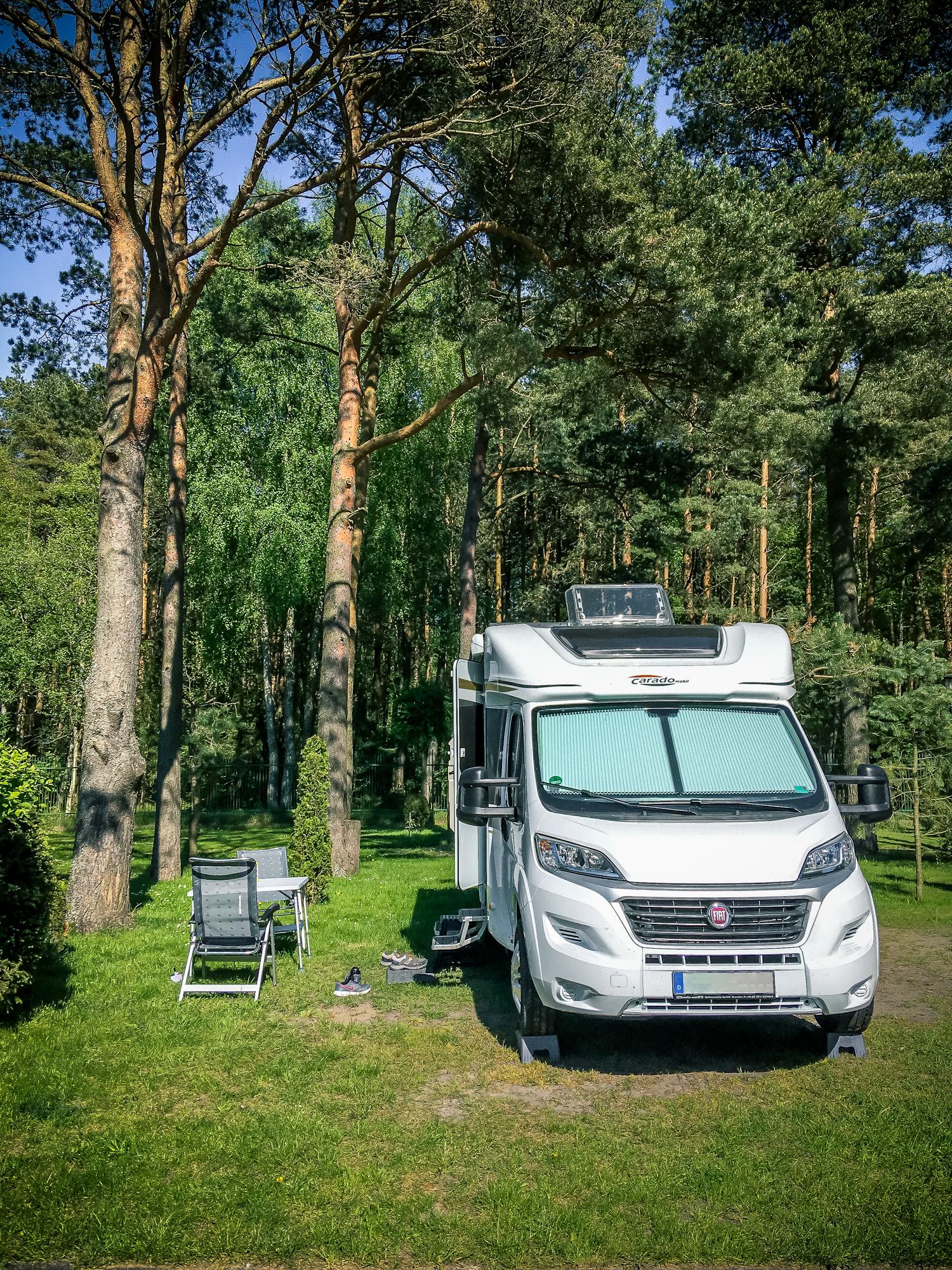 Camping Platz Morski 21 in Lebe