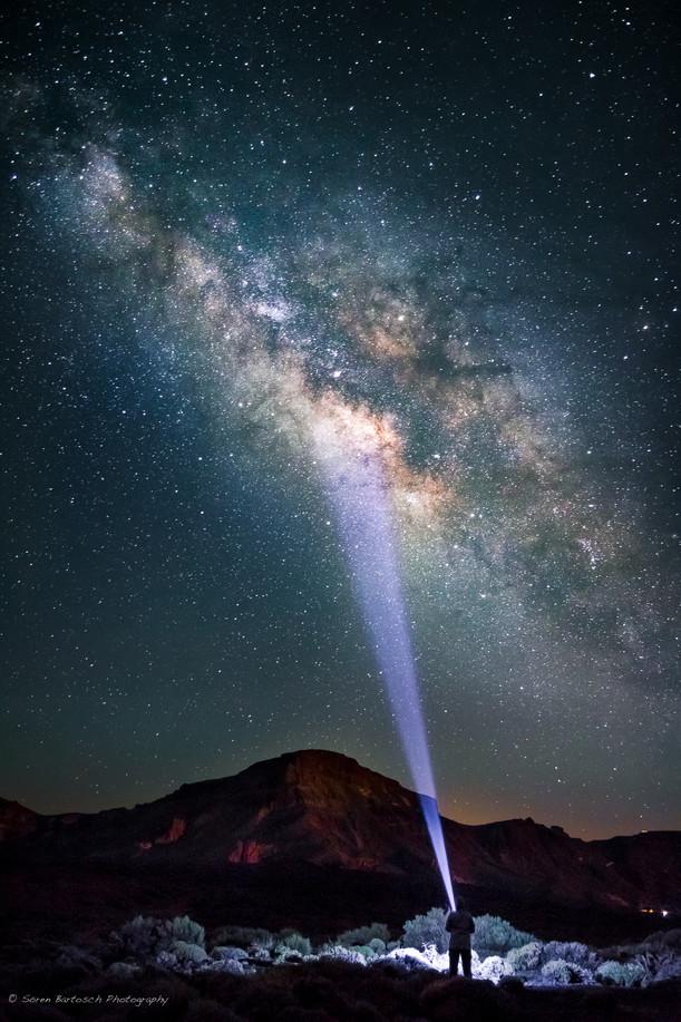 Eine Nacht unter dem Sternenhimmel