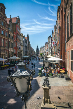 Dluga Street Danzig