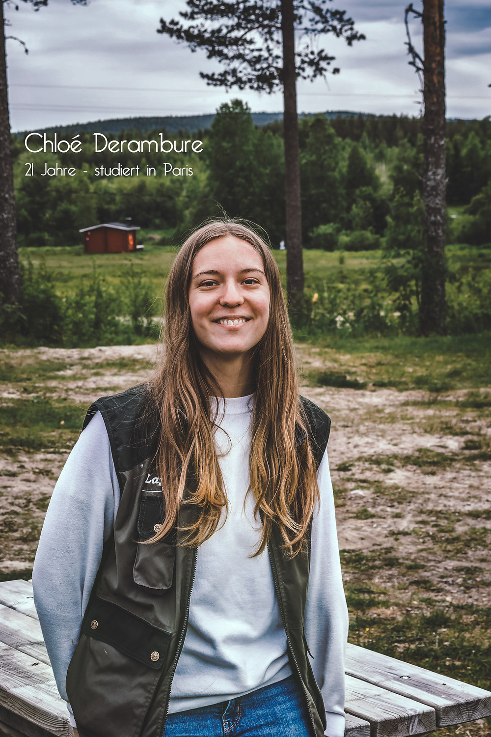 Cloé Derambure, 21 Jahre - studiert in Paris