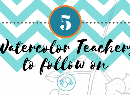 5 Watercolor Teachers to Follow on Skillshare