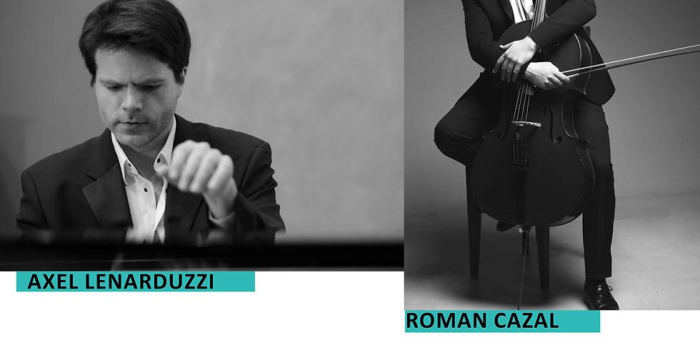 Récital piano et violoncelle// Axel Lenarduzzi et Roman Cazal