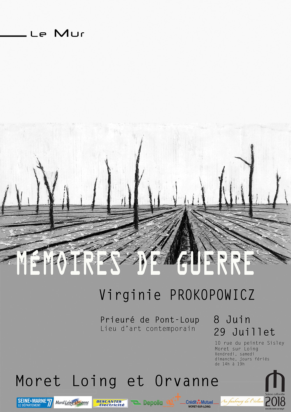 affiche mémoires de guerre virginie Prokopowicz