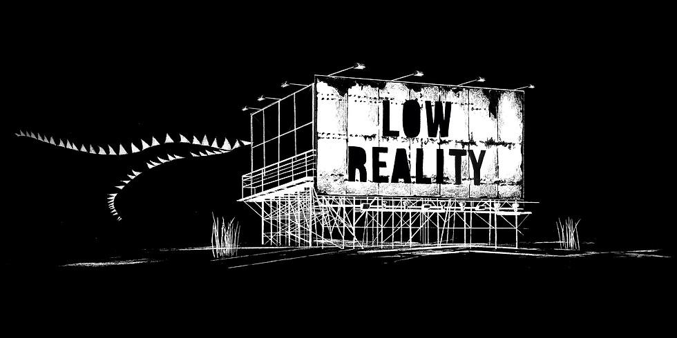 LOW REALITY/ Performance Live Music picturale et numérique/  Nicolas Gaillardon & Mogan Cornebert