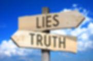Lies, truth - wooden signpost.jpg