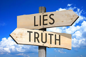 Lies, truth - wooden signpost.jpg
