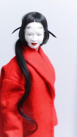 AIKO in ko-omote mask