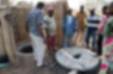 dalles toilettes sèches réutilisables togo afrique