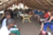 réunion avec le comité de développement villageois