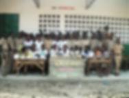 don de livres et manuels et matriels scolaires au lycée de kolo togo afrique