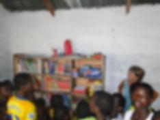 bibliohèque pour les enfants togolais