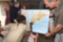 Avant pour voir une carte il fallait la tracer au tableau