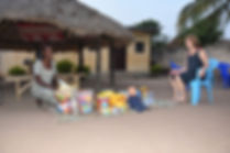 remise de jeux au jardin d'enfants