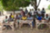 don de tables banc école afrique