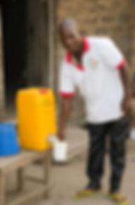 utilisation familiale de filtre à eau alaric togo