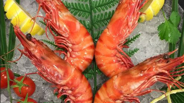 "Crevettes sauvages ""Camerones"" 2/5 (2KG)"
