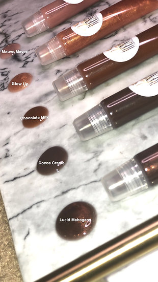 """Ebony Glazed"" Gloss Collection"