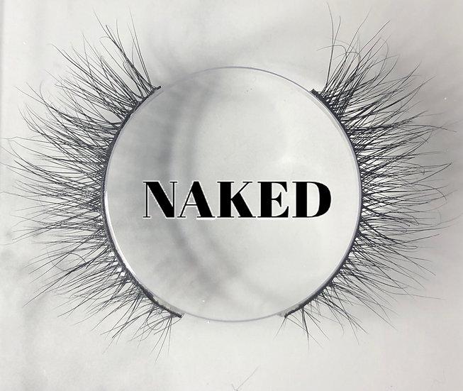 """"""" Naked """" Side-Eye Mink Lash"""