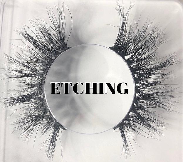 """ Etching "" Side-Eye Mink Lash"