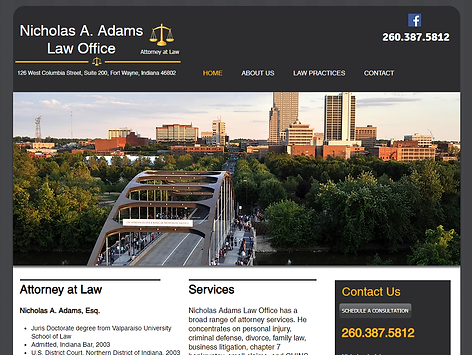 Law Office Website Developer