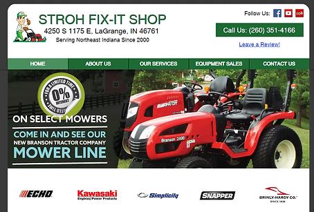 Equipment Dealer Repair Website