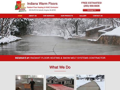 Contractor Website Development