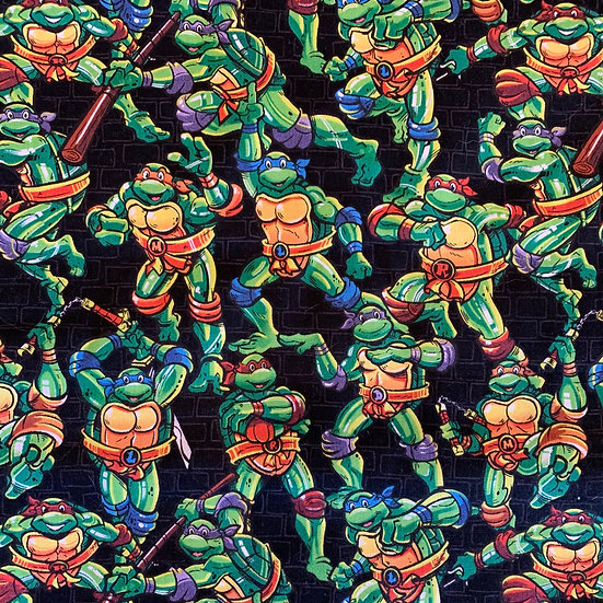 Ninja Turtles Black