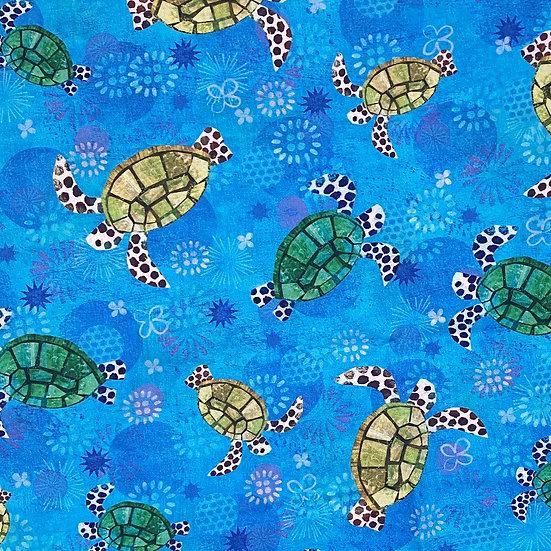 Sea Blue Turtles