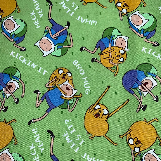 Adventure Time Green