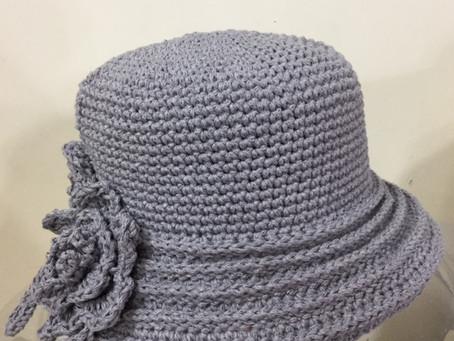 夏の帽子を編みましょう
