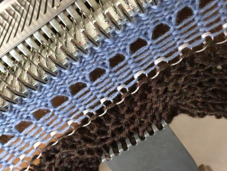 機械編みのプライベートレッスン