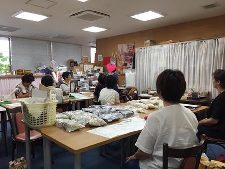 帯刀先生の糸紡ぎ講座(1日目)