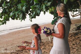 Kate and Tom Vow Renewal - Ryan Ao Kauai Photographer Videographer