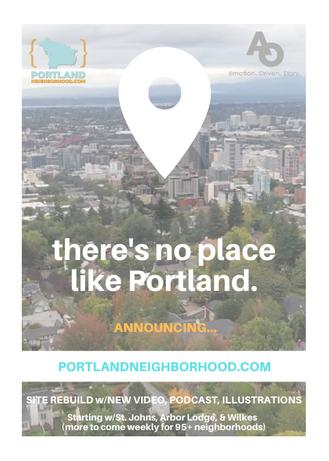 Announcing Portlandneighborhood.com