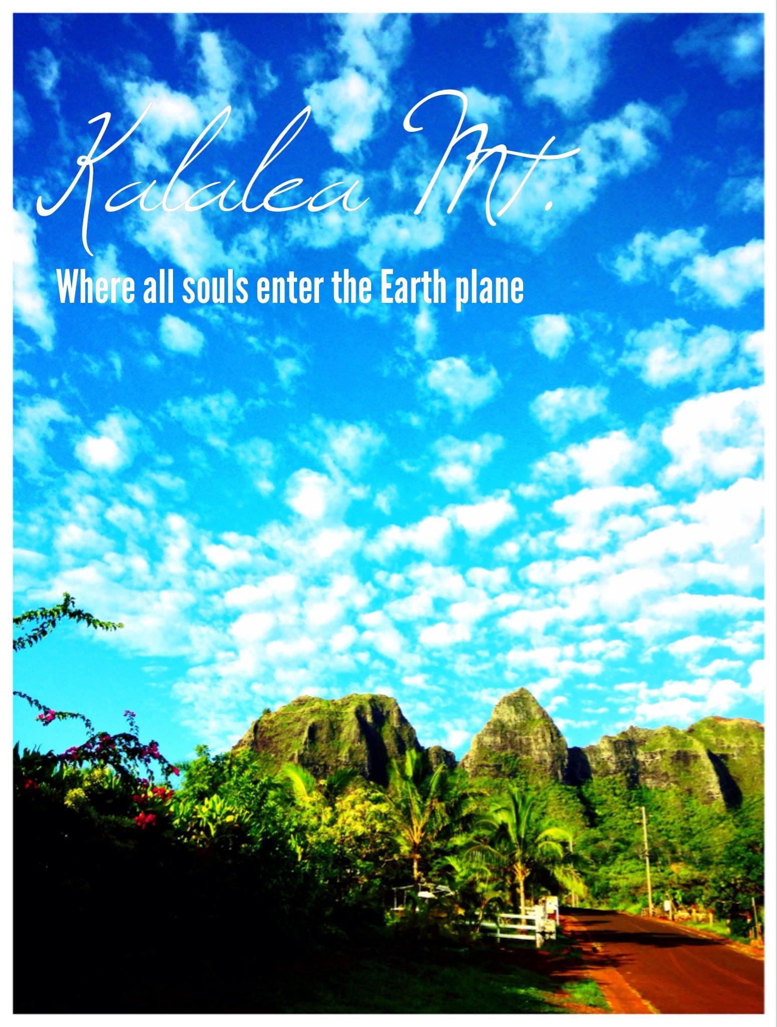 Kalalea Mt., Anahola, Kauai, Hawaii