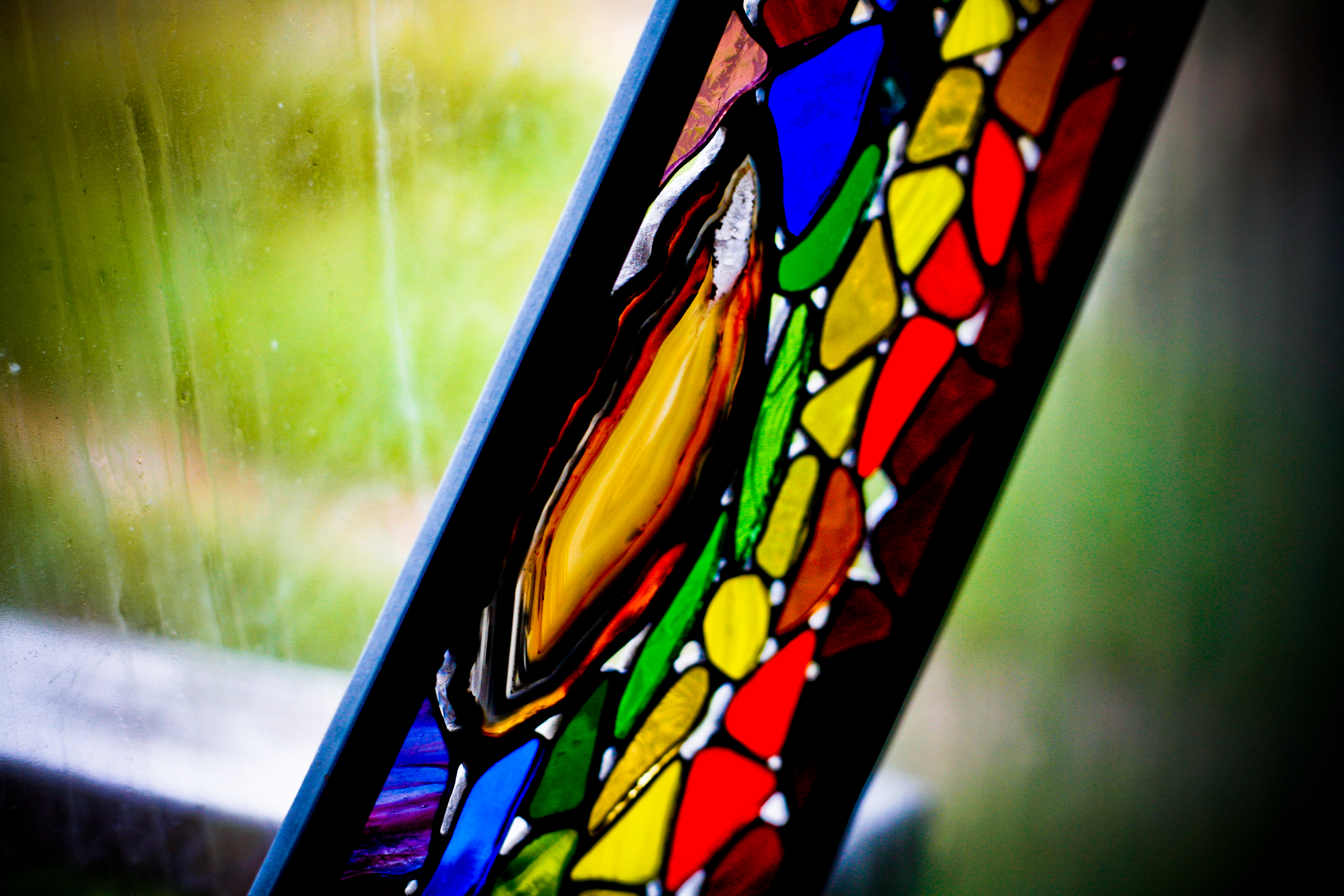 Stained Glass Gemstone