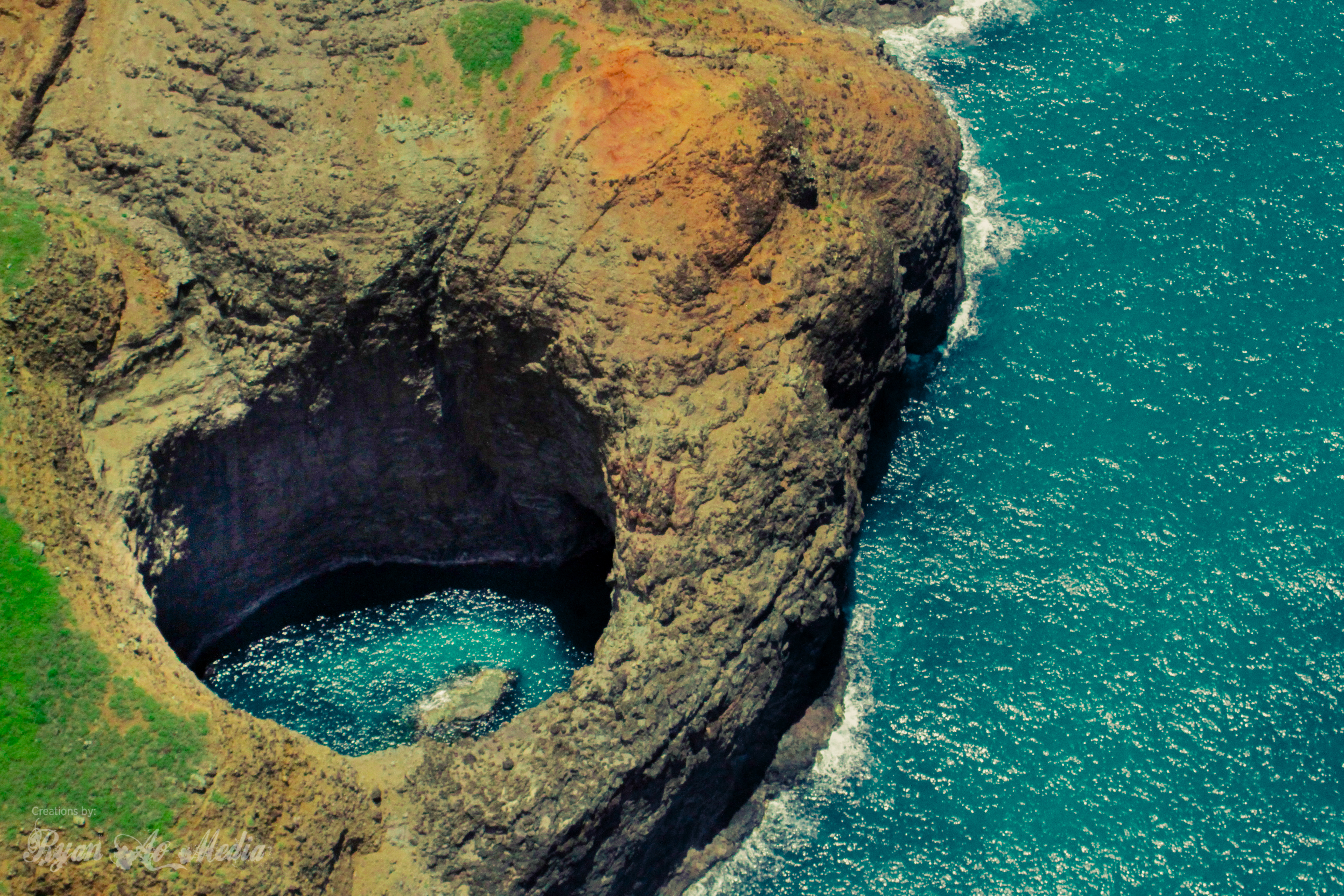 Blue Hole, Na Pali Coast