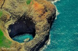 Blue Hole, Na Pali Coast