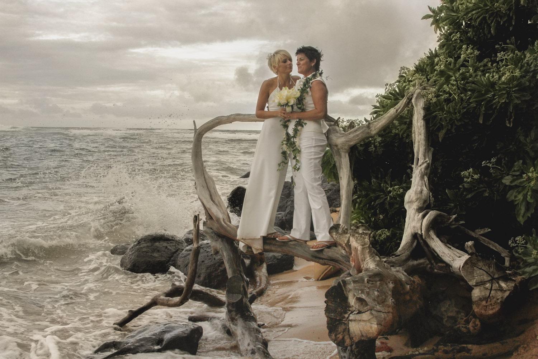 Ryan Ao Kauai Same Sex Wedding Photographer 2