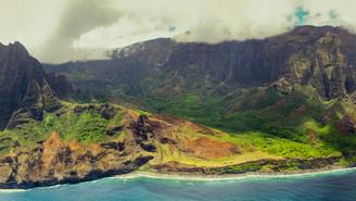 Helicopter Arial Panorama Photography of Kauai - Ryan Ao Kauai Arial Photographer