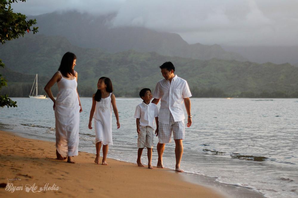 Kauai Family Portrait Photographer Hanalei