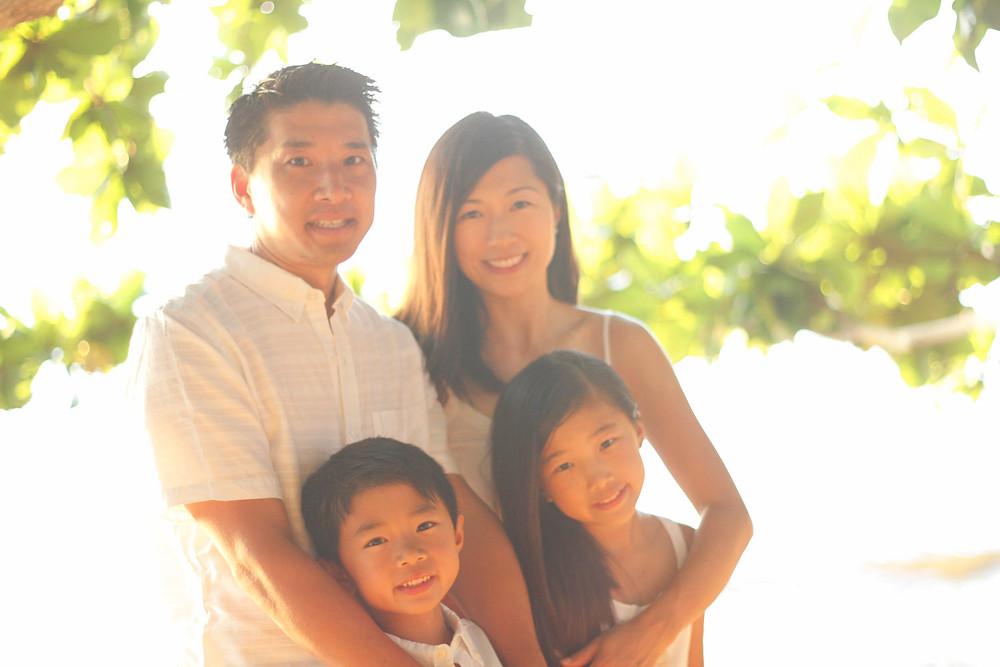 Kauai Family Portrait Photographer Natural Lighting
