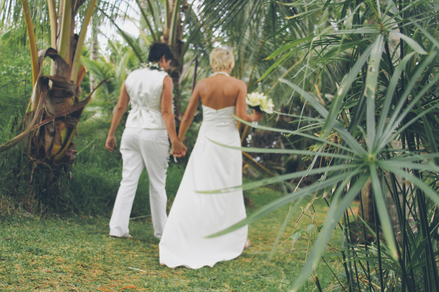 Kauai Same Sex Wedding Photographer