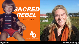 Sacred Rebel - Episode 5 GUEST: BREEUANA SAGDAL - BLM Protests, unity vs division, constitution